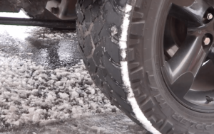 Snow tire installations and removal